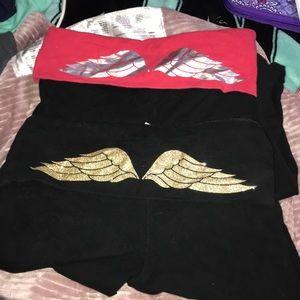 Victoria's Secret two pairs of leggings